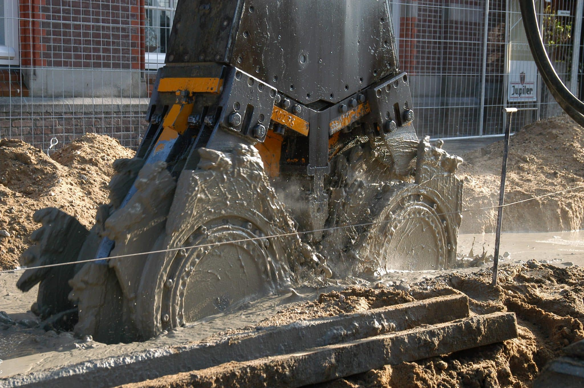 Winmix Hoffmann Wedam W-dam Krings soilmix csm soilmix ballast nijmegen